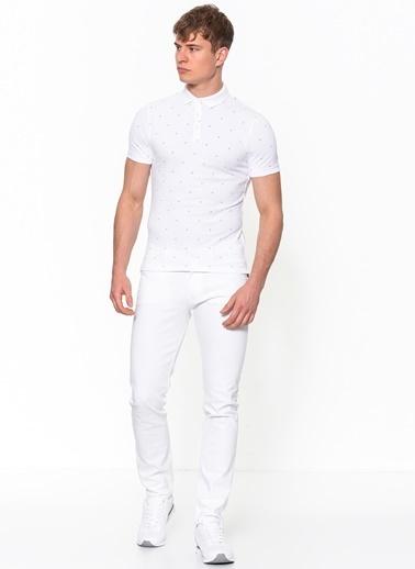 Calvin Klein Jean Pantolon | Slim Beyaz